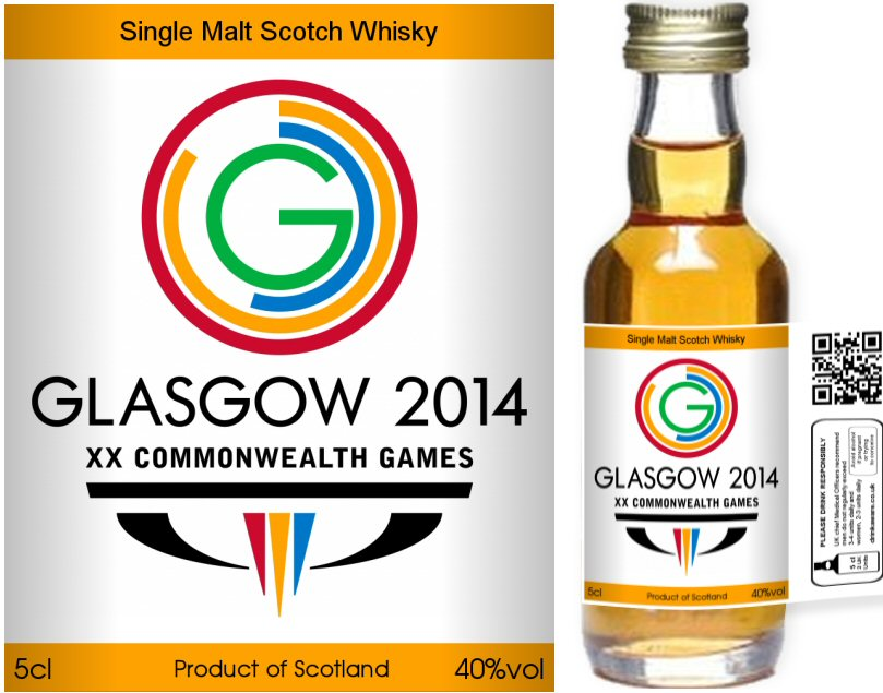 Own Brand Label: 01 | Personalised Whisky Miniatures