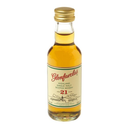 Glenfarclas 21 yo Single Malt Scotch Miniature Whisky 5cl Bottle
