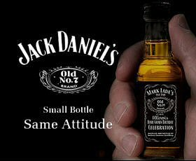 Jack Daniels Whiskey Miniatures