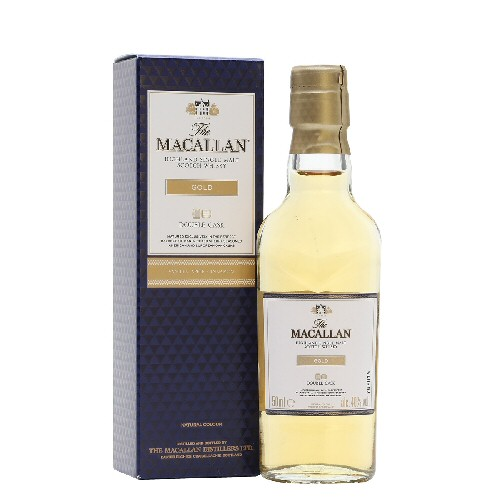"Macallan ""Double Cask Gold\"" Scotch Whisky 5cl Miniature"