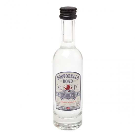 "Portobello Road ""No.171\"" Gin 5cl Miniature"