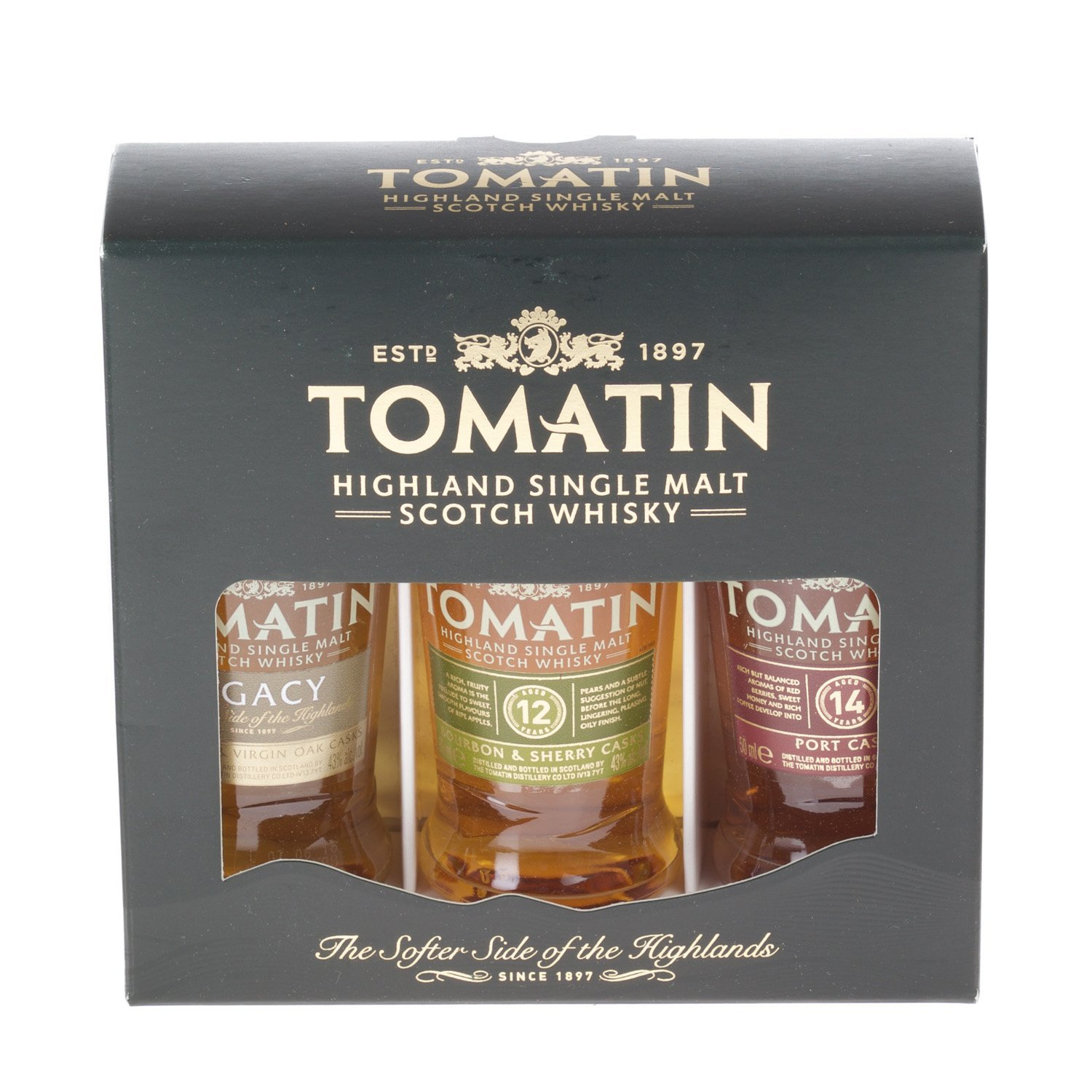 Tomatin Gift Pack - miniature, 5cl, bottles