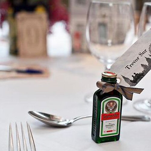 Rebecca's Jagermeister Wedding Miniatures