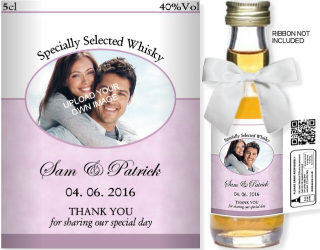 Personalised Alcoholic Miniatures